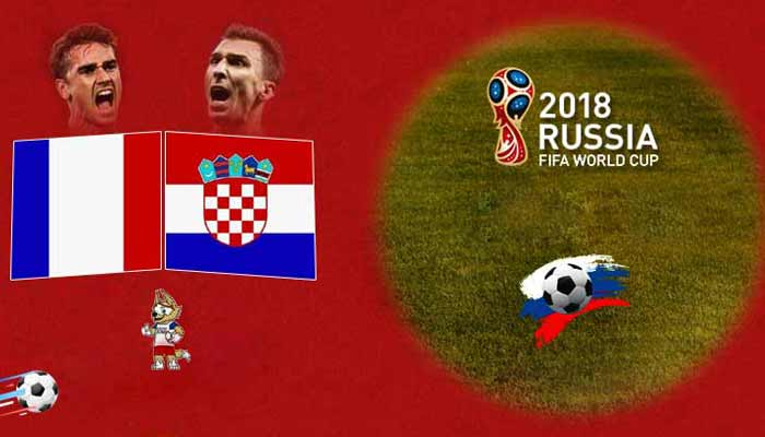 France vs Croatia Prediction 15 Jul 2018