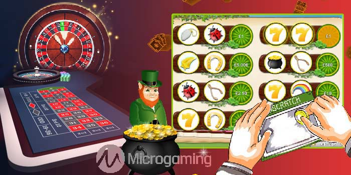 Microgaming New Scratchcard and Roulette Game