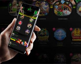 ألعاب الموبايل على كازينو888