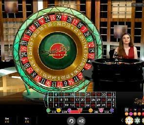 روليت سبريد بيت (Spread Bet Roulette)