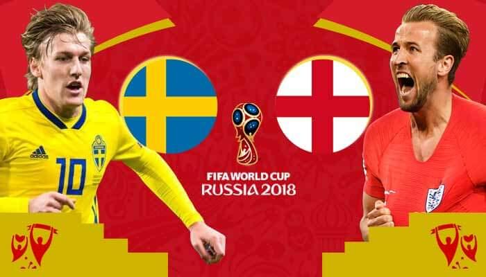 Sweden vs England Prediction 7 Jul 2018