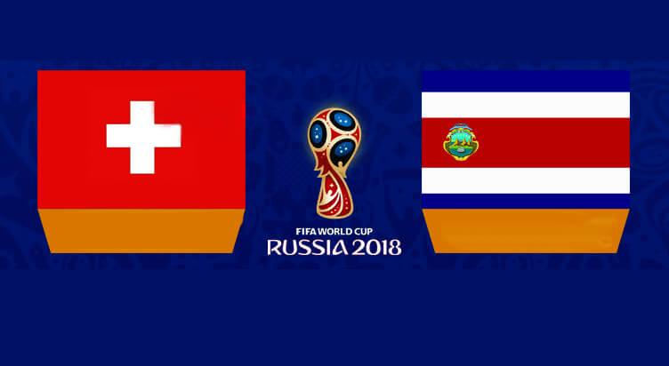 Switzerland vs Costa Rica Prediction 27 Jun 2018