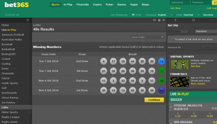 Bet365 offering free credits to new Lotto Betting Customers
