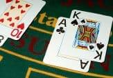 البلاكجاك بمجموعة أوراق لعب واحدة