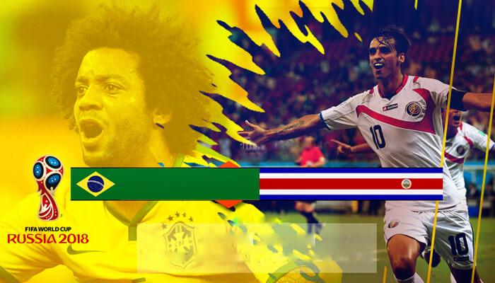 Brazil vs Costa Rica Prediction 22 Jun 2018