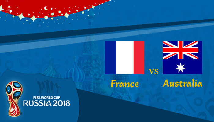 France vs Australia 16 Jun 2018