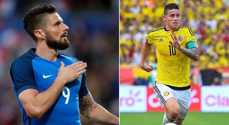 France vs Colombia Prediction