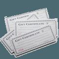 Gift Certificate Bonus
