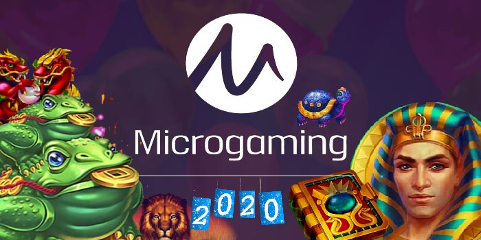 Microgaming to kick-start 2020 with four new slot games