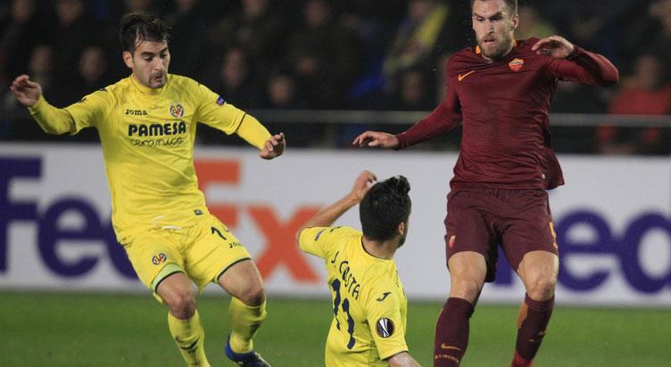 Roma vs Villarreal Prediction & Betting Tips – 23 Feb 2017