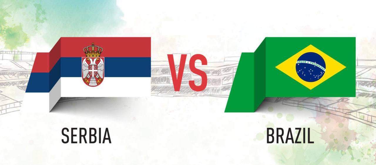 Serbia vs Brazil Prediction